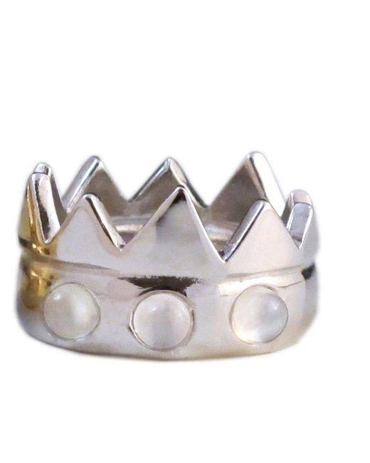 Jill Golden | Metallic Crown Fusion | Lyst