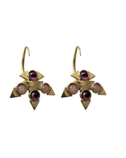 Jill Golden | Metallic Reflection Montgomery Earring | Lyst
