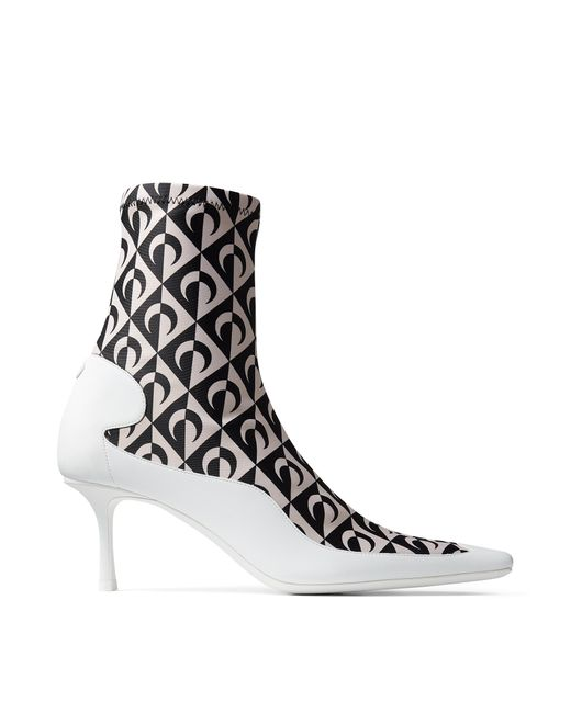Jimmy Choo Jc X Ms Sock Ankle Boot Black