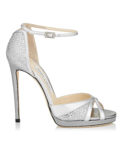 0afa2da0258b Jimmy Choo Talia 120 in Metallic - Save 1% - Lyst