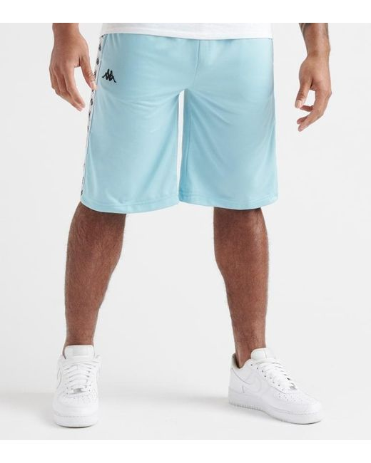 0b2da217d67d9 Kappa - Blue 222 Banda Treadwellz Short for Men - Lyst ...