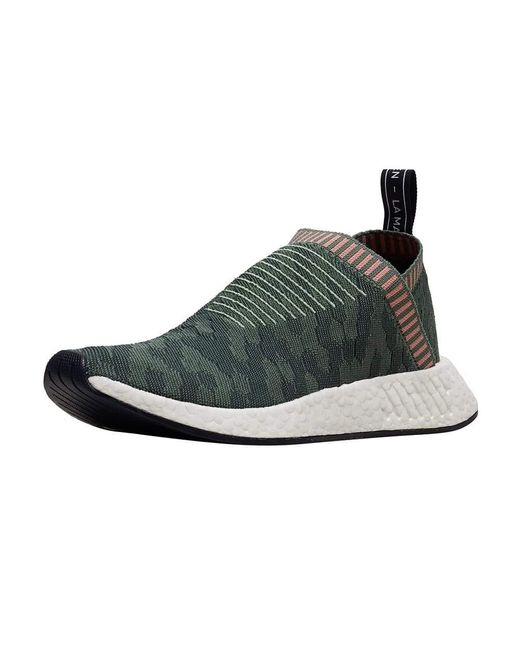 adidas Rubber Nmd Cs2 Pk in Green,Pink