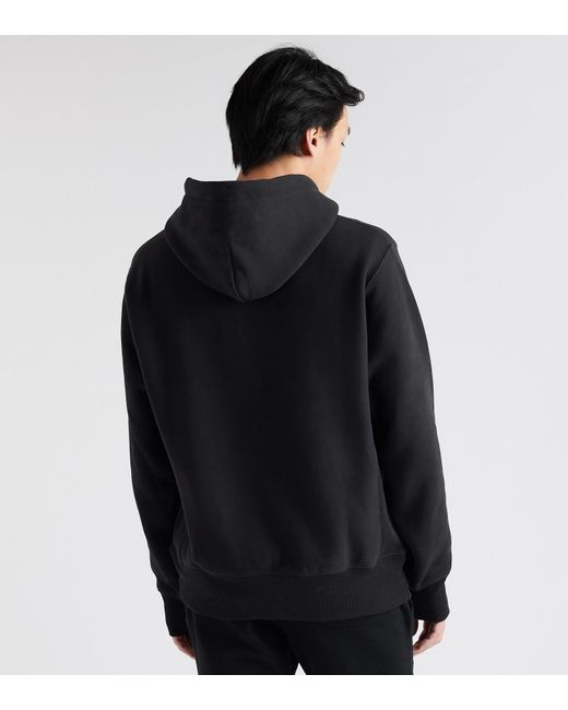 91eee492ede2 ... Champion - Black Reverse Weave Pullover Hoodie for Men - Lyst ...