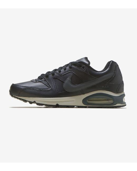 Men's Black Air Max Command Leather