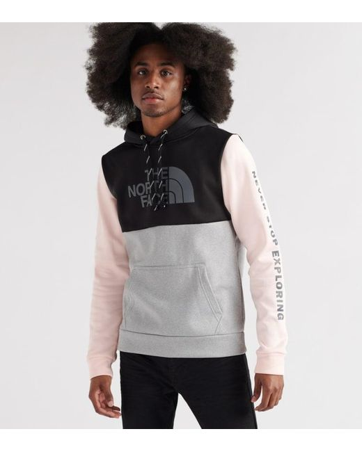 fc8ceaa44b The North Face - Black Surgent Block Pullover Hoodie for Men - Lyst ...