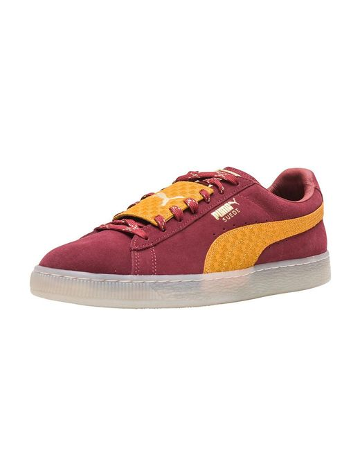 PUMA - Red Suede Epic Remix for Men - Lyst
