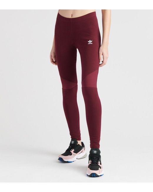 Adidas - Purple Colorado Legging - Lyst ... 6bcd932368c8