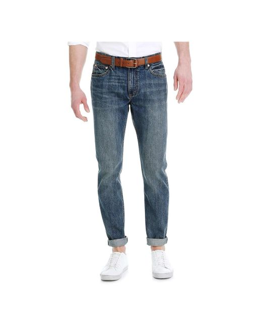 Joe Fresh | Blue Men's Slim Straight Light Jean for Men | Lyst