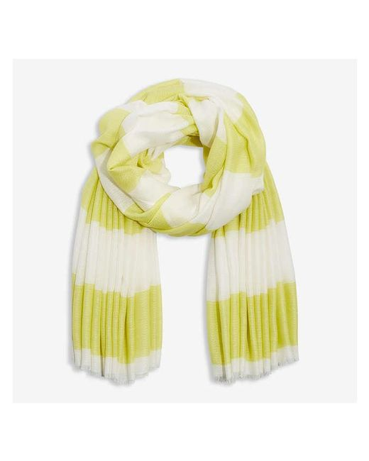 Joe Fresh Yellow Striped Scarf