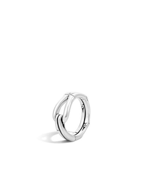 John Hardy   Metallic Bamboo Ring   Lyst