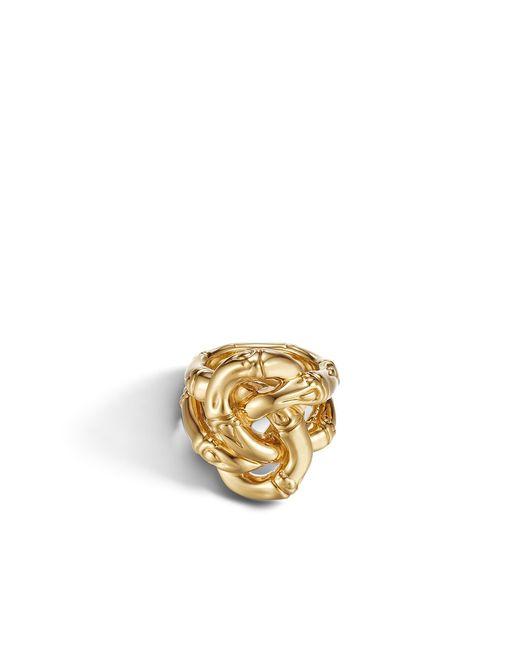John Hardy | Metallic Knot Ring | Lyst