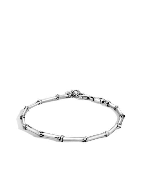 John Hardy | Metallic Bamboo Link Bracelet | Lyst