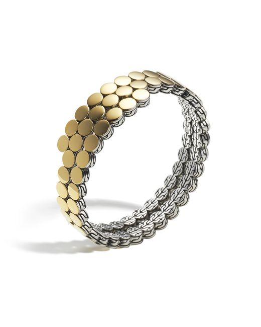 John Hardy   Metallic Double Coil Bracelet   Lyst