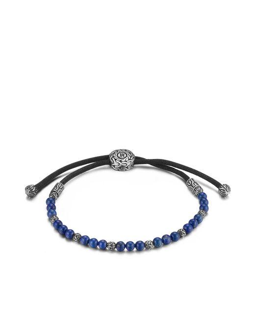 John Hardy   Blue Classic Chain Bead Bracelet With Lapis   Lyst