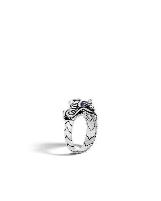 John Hardy - Multicolor Naga Ring for Men - Lyst