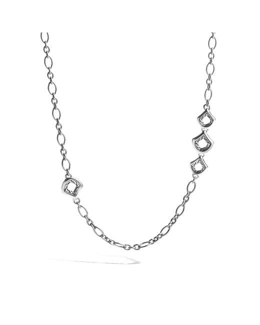 John Hardy - Metallic Naga Link Necklace - Lyst