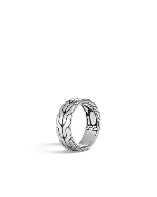 John Hardy - Metallic Classic Chain Band Ring for Men - Lyst