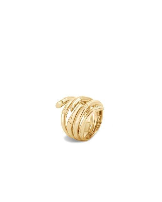 John Hardy Metallic Bamboo Ring