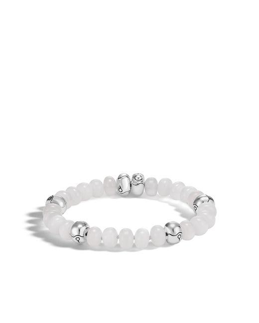 John Hardy | Bead Bracelet With White Moonstone | Lyst