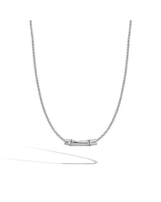John Hardy - Metallic Slide Pendant Necklace - Lyst