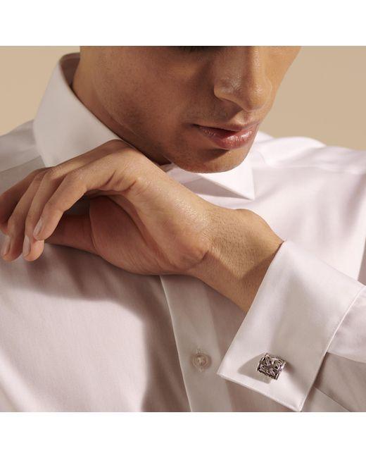 John Hardy Black Bamboo Cufflinks for men