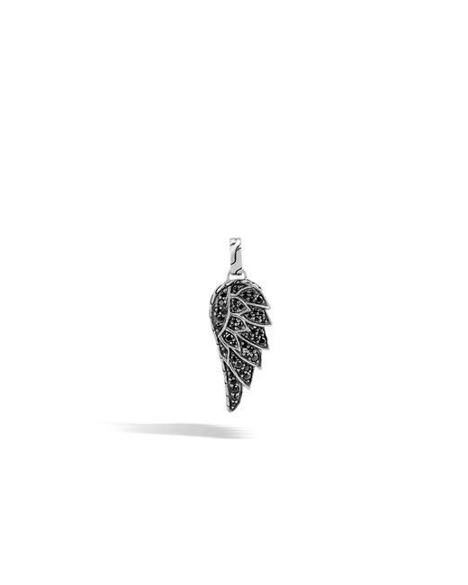 John Hardy - Eagle Pendant With Black Sapphire for Men - Lyst