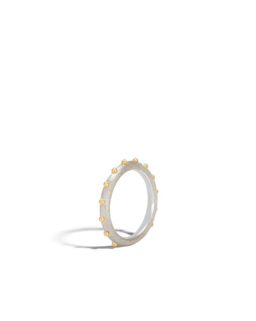 John Hardy - Multicolor Brushed Band Ring - Lyst