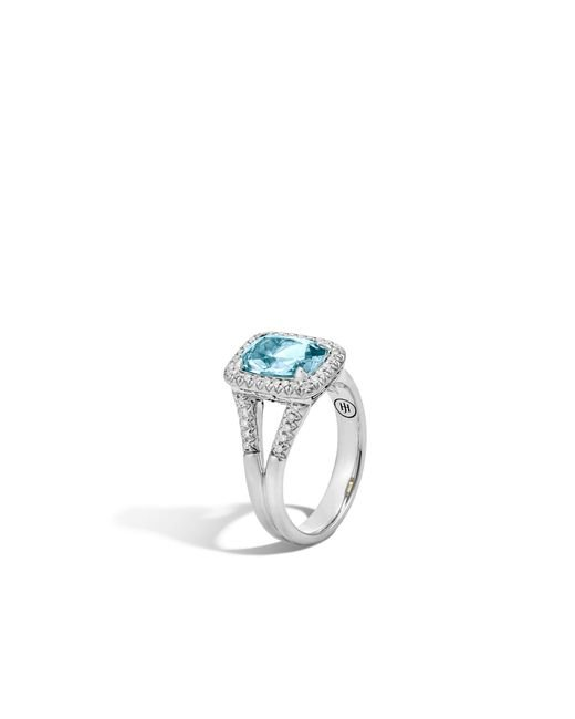 John Hardy Magic Cut Ring With Rutilated Topaz And Diamonds fYm2L5Ay3