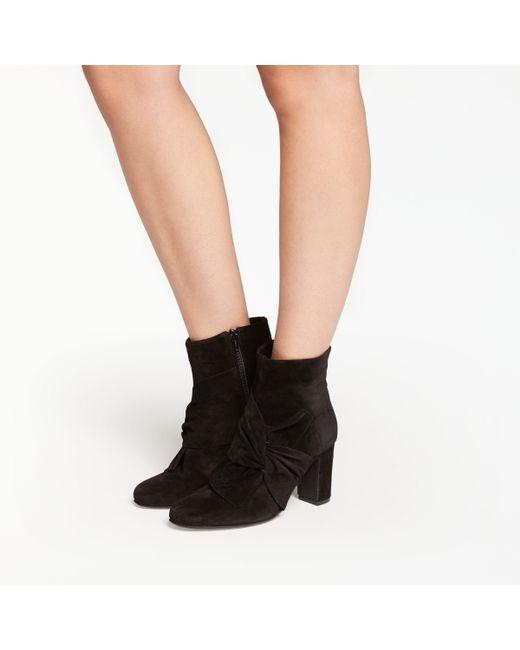 John Lewis - Black Odilia Block Heeled Ankle Boots - Lyst