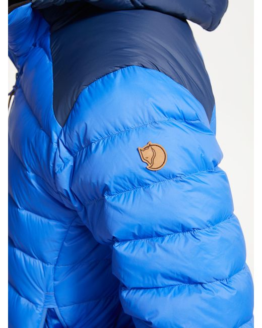 0099b27e84 ... Fjallraven - Blue Keb Touring Down Puffer Jacket for Men - Lyst ...