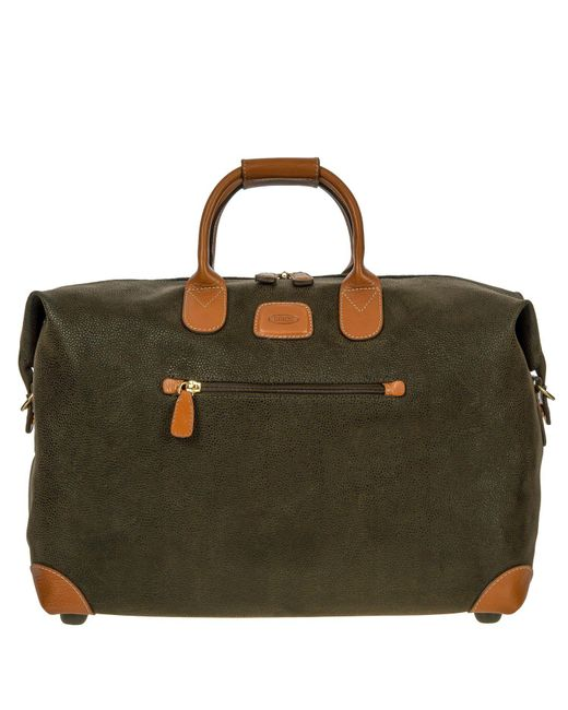Bric's - Black Life Clipper Small Holdall for Men - Lyst