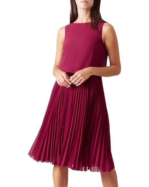 Hobbs   Purple Tabitha Dress   Lyst