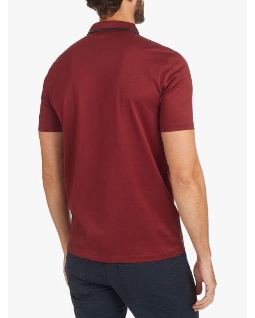 6241ee855561 ... BOSS - Red Hugo By Darseille Slim Fit Polo Shirt for Men - Lyst ...