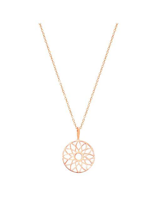 Auren - Pink Dreamcatcher Pendant Necklace - Lyst