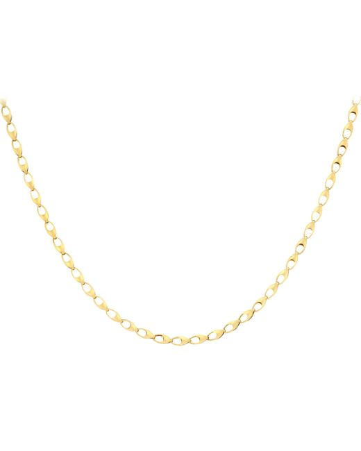 Ib&b - Metallic 9ct Yellow Gold Oval Link Necklace - Lyst