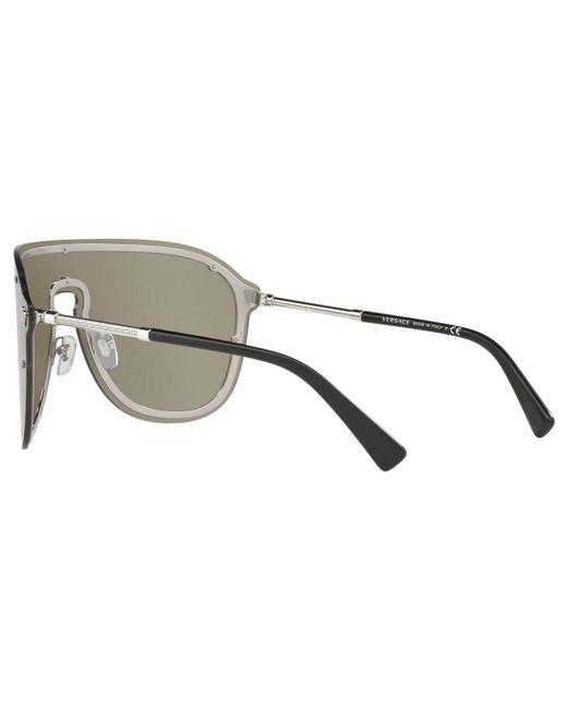 3a111fbd8375 ... Lyst Versace - Multicolor Ve2180 Women s Aviator Sunglasses ...