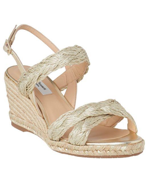 f82faadd1399f ... L.K.Bennett - Metallic Roxie Wedge Heel Espadrille Sandals - Lyst ...