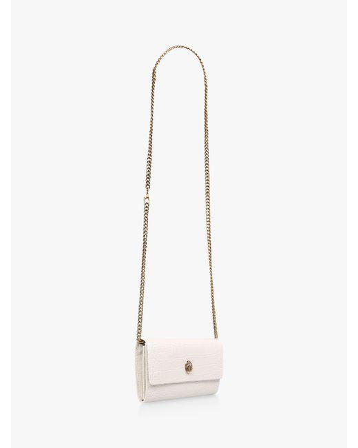 e53993d6ae63 ... Kurt Geiger - Multicolor Kensington Leather Wallet Clutch Bag - Lyst ...