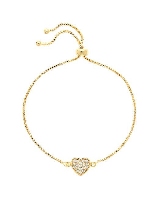 John Lewis - Metallic Melissa Odabash Glass Crystal Heart Bracelet - Lyst