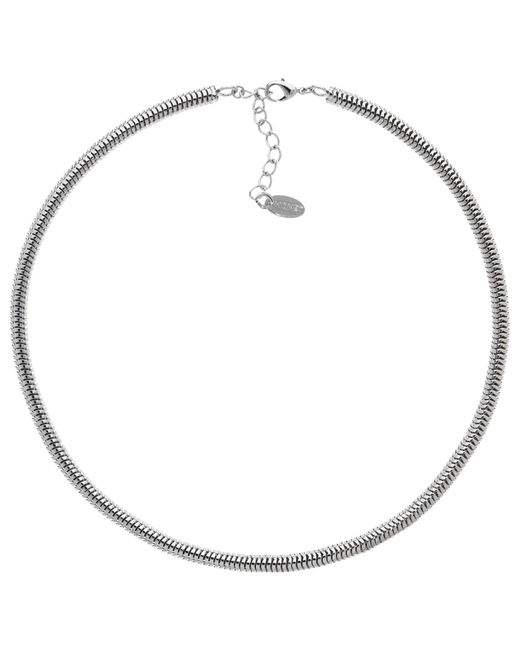 Monet | Metallic Short Snake Chain Necklace | Lyst