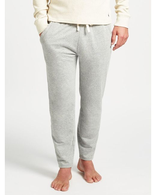 Ralph Lauren | Gray Polo Loopback Jersey Lounge Pants for Men | Lyst