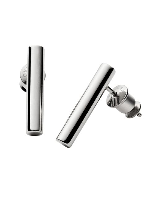 Skagen - Metallic Amalie Linear Stud Earrings - Lyst
