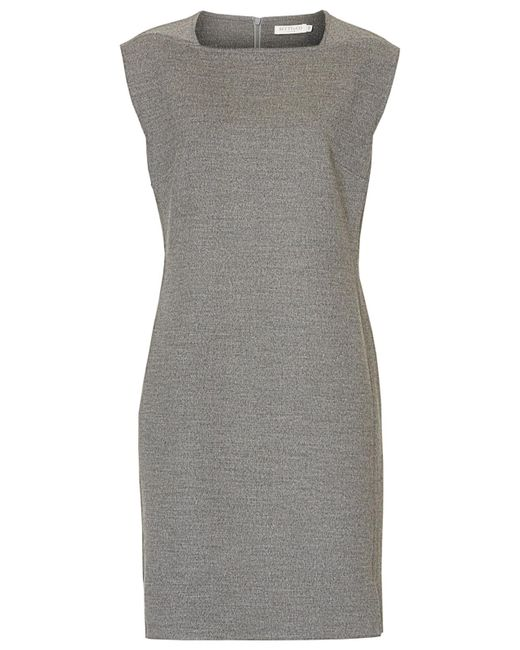 Betty & Co. | Gray Felt Shift Dress | Lyst