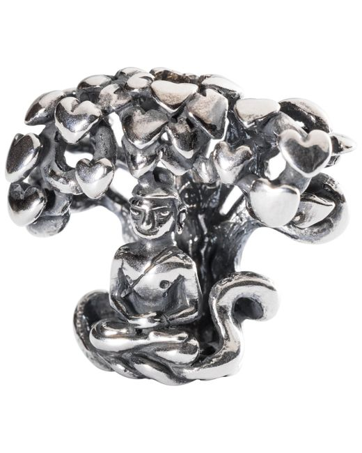 Trollbeads   Metallic Sterling Silver Tree Of Awareness Charm   Lyst
