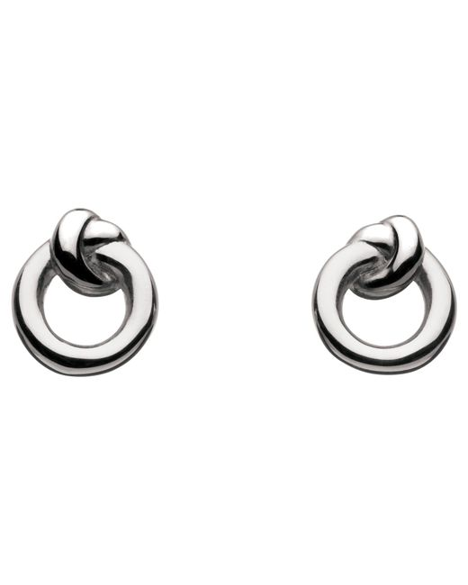 Kit Heath | Metallic Sterling Silver Knot Stud Earrings | Lyst