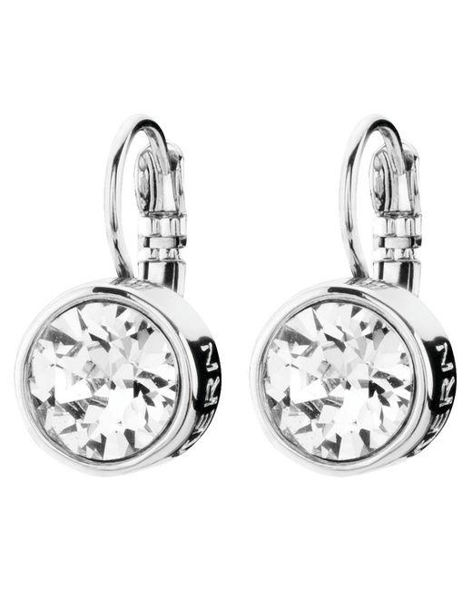 Dyrberg/Kern | Metallic Dyrberg/kern Louise Crystal French Hook Drop Earrings | Lyst