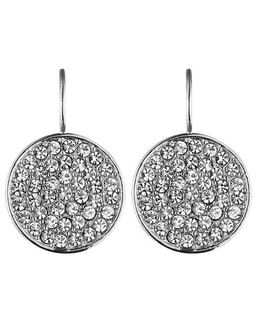 Dyrberg/Kern | Metallic Dyrberg/kern Desira Crystal Disc Drop Earrings | Lyst