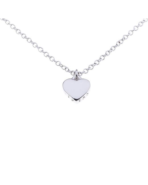 Ted Baker | Metallic Hara Tiny Heart Pendant Necklace | Lyst