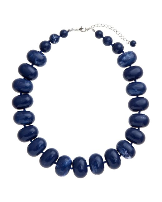 John Lewis | Blue Potato Bead Statement Necklace | Lyst