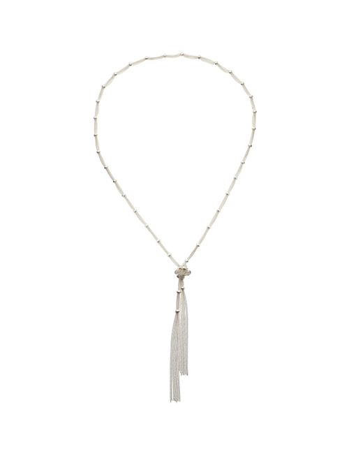 John Lewis | Metallic Ring And Knot Long Necklace | Lyst